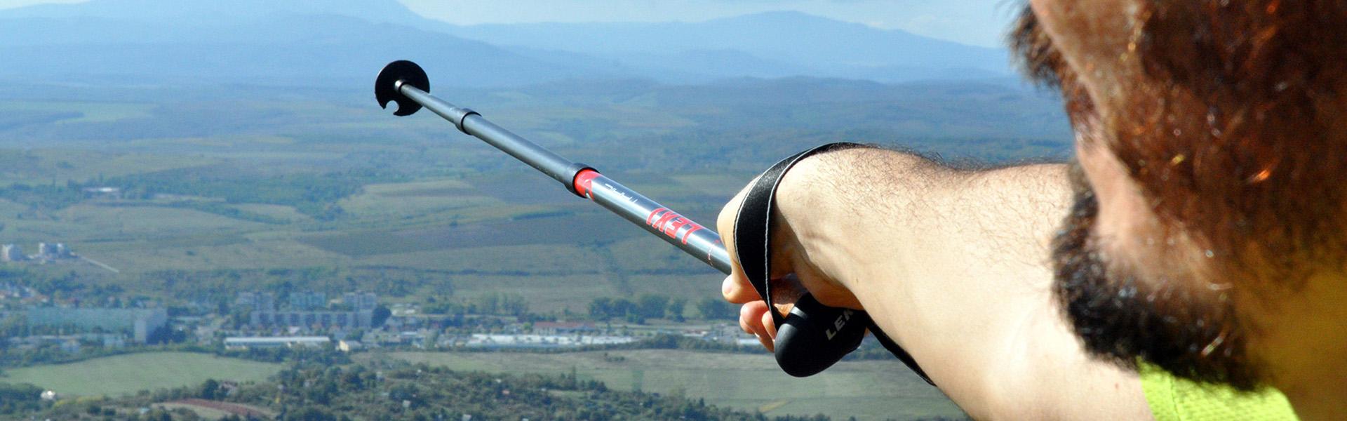 Leki Trail és Trail Antishock túrabot teszt