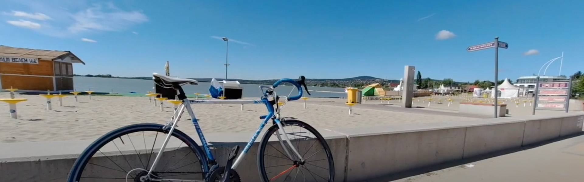 Velencei-tó kerékpárral (meg egy csomó extra kerékpárút infóval)
