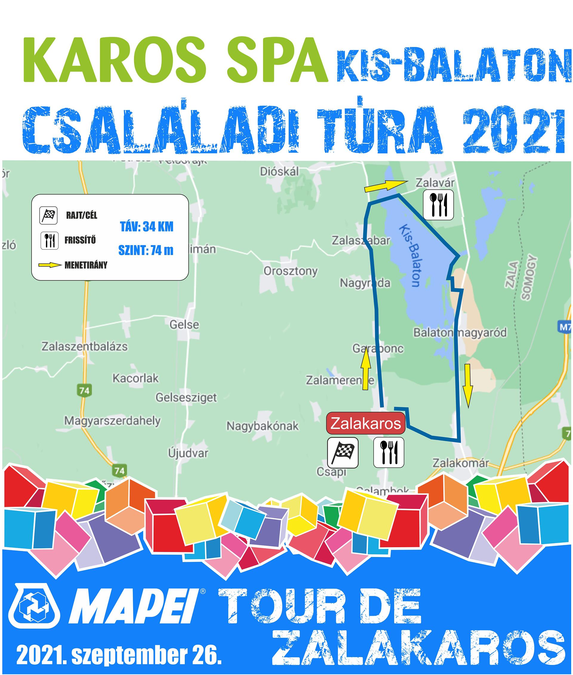 Indul a nevezés a 2021-es MAPEI Tour de Zalakarosra, új maraton pályával!-6