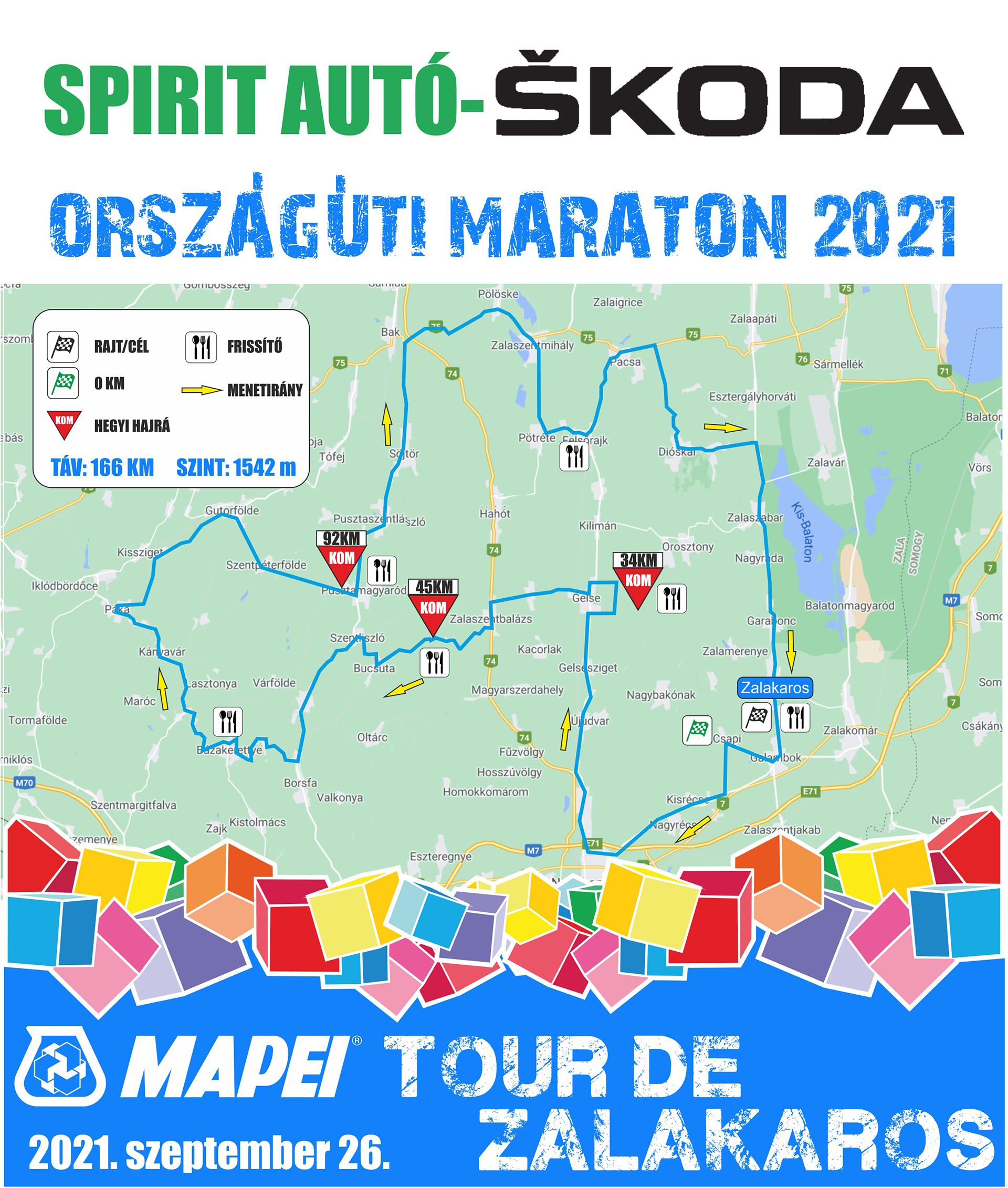 Indul a nevezés a 2021-es MAPEI Tour de Zalakarosra, új maraton pályával!-8