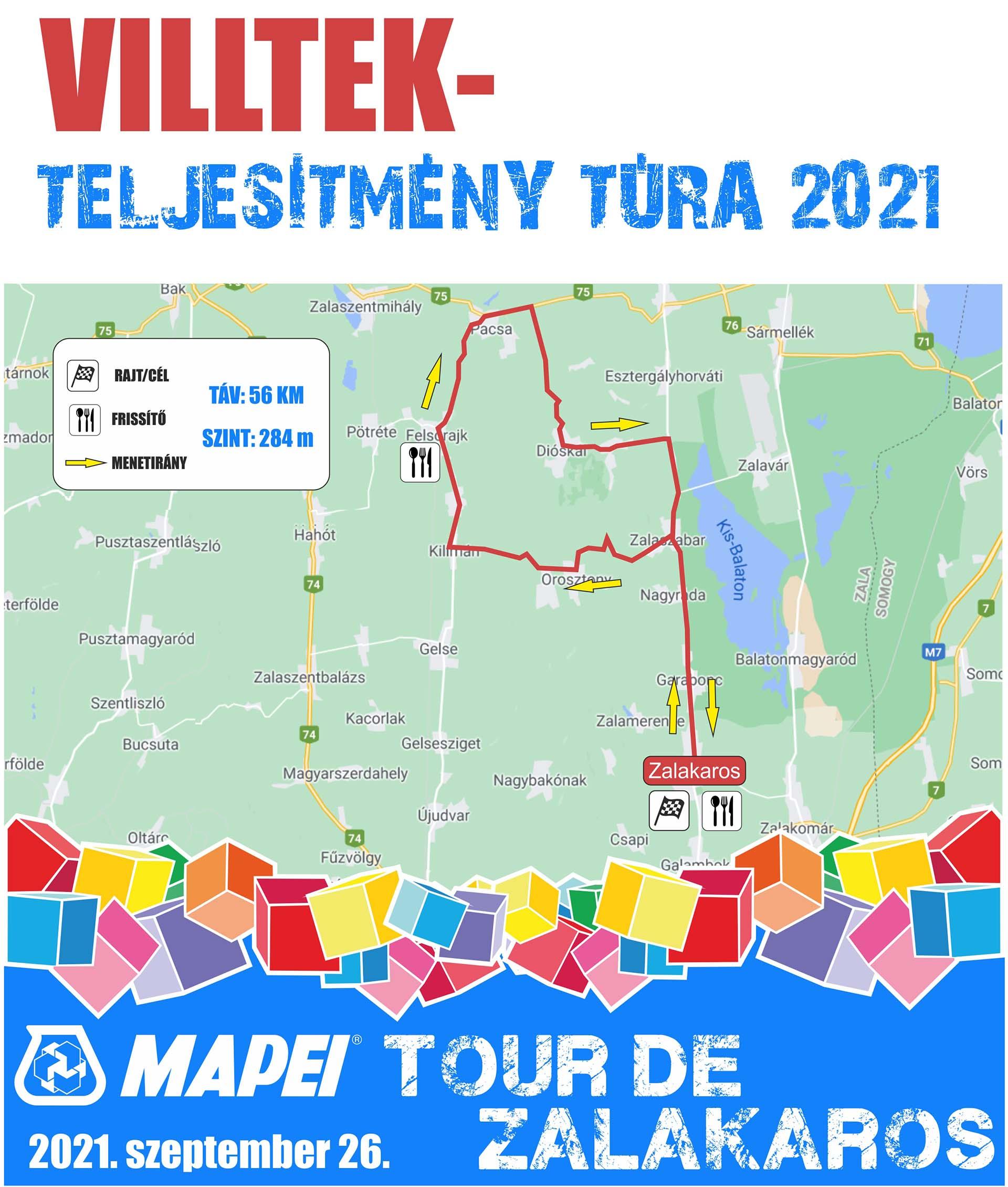 Indul a nevezés a 2021-es MAPEI Tour de Zalakarosra, új maraton pályával!-9