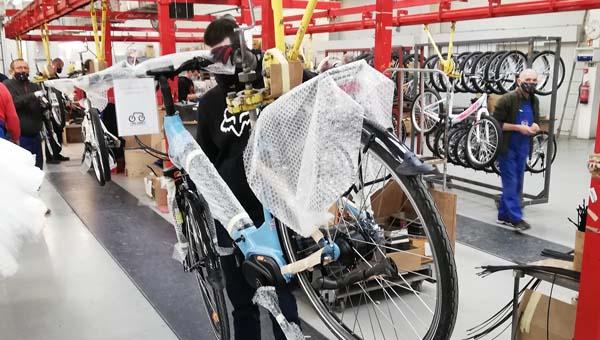 Saját gyártásban készíti kerekeit a Neuzer kerékpárgyár Esztergomban
