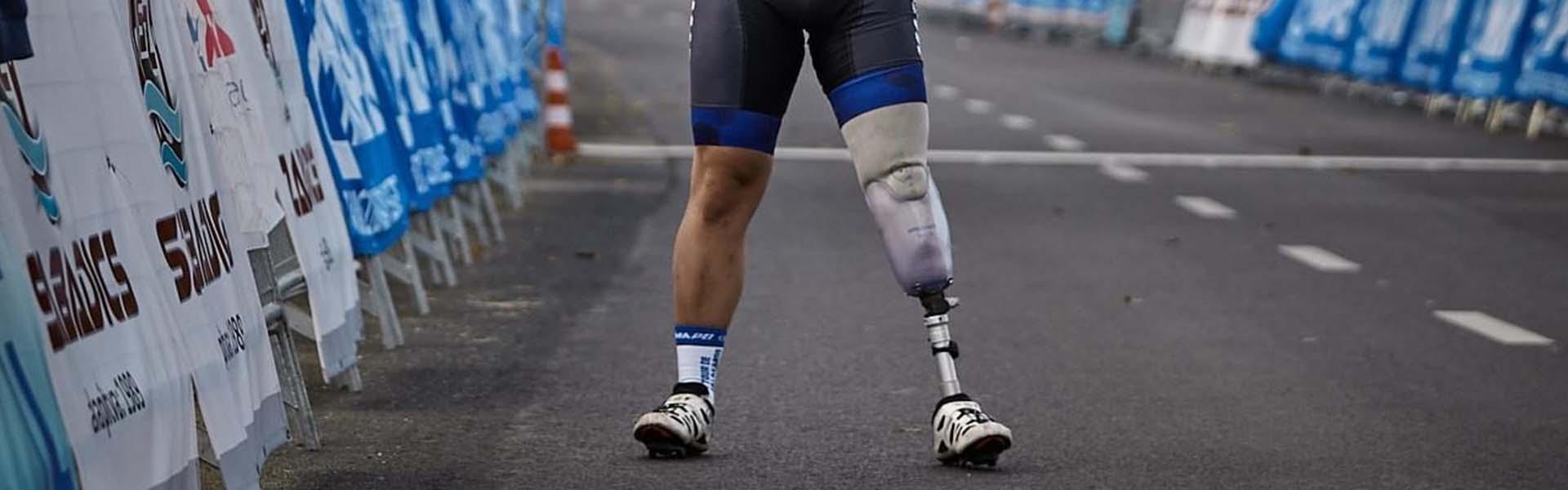 Újra sportolni, lábprotézissel