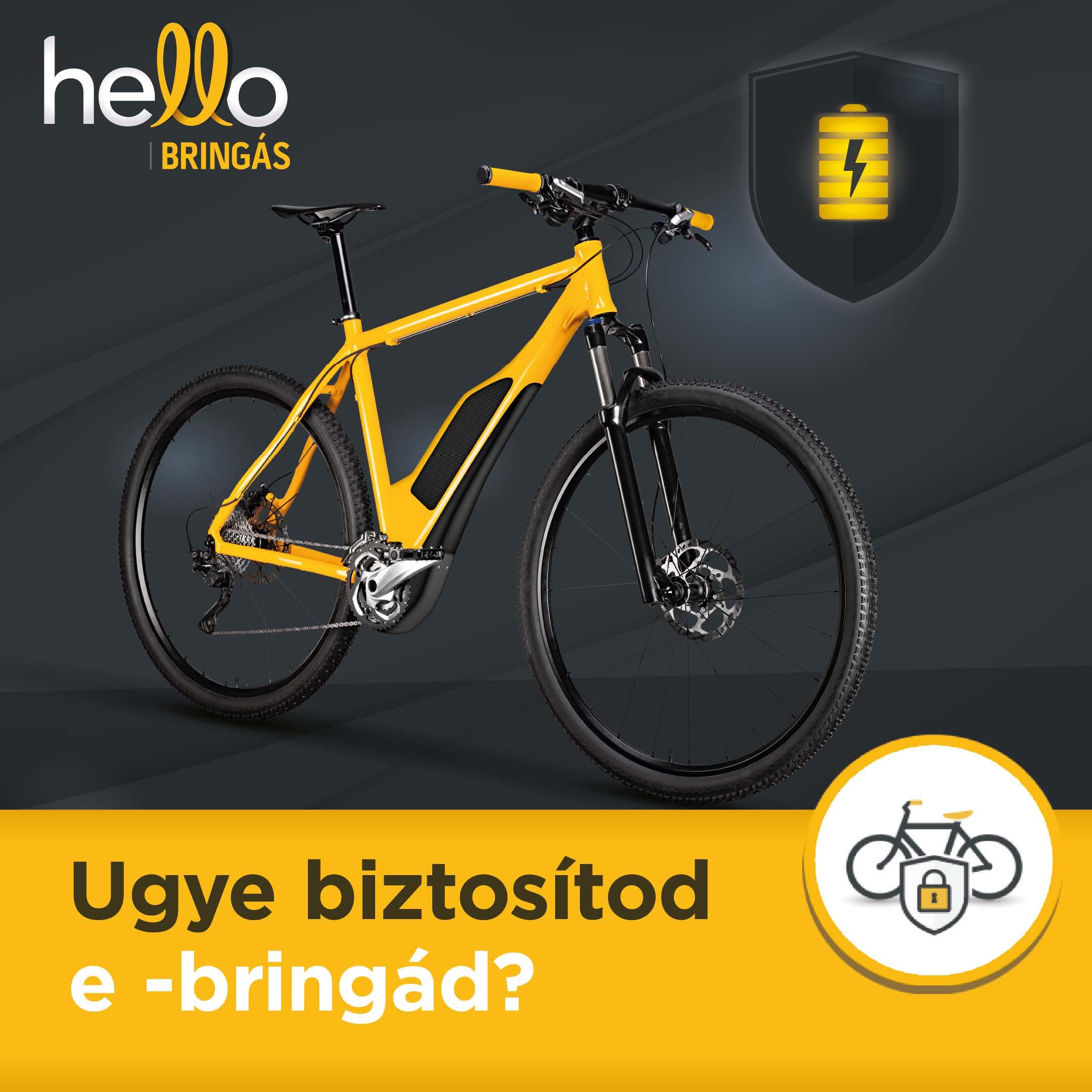 Már elektromos kerékpárokra is köthető biztosítás!-2