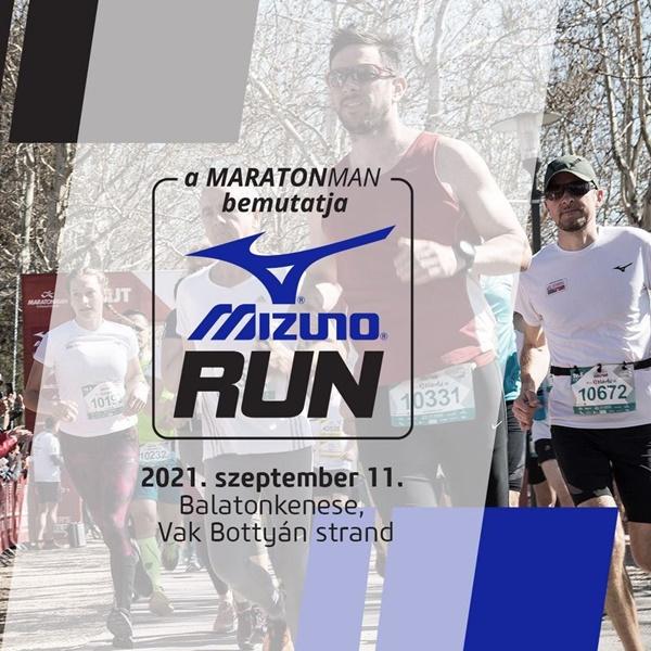 Mizuno Run 2021 Balatonkenese
