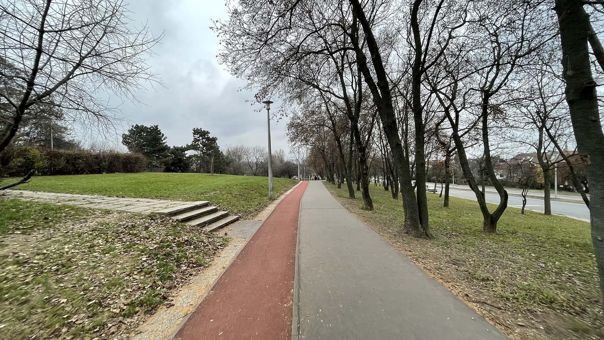 Óhegy park futókör-8