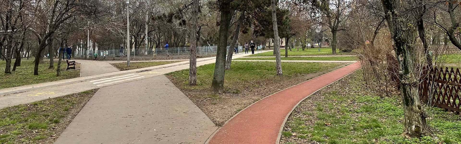 Óhegy park futókör