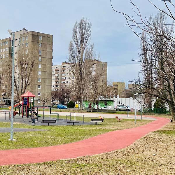Fitt-park (Kanada játszótér) futókör