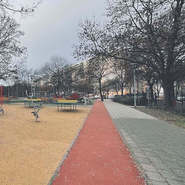 Kispesti futókör (Vak Bottyán utca)