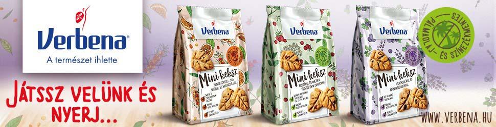 Kóstolj bele az egészségesebb életmódba a Verbena Mini kekszekkel! Játssz velünk és nyerj Verbena ajándékcsomagot!-4