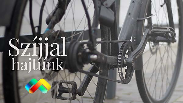 6 év tapasztalat szíjhajtásos kerékpáron