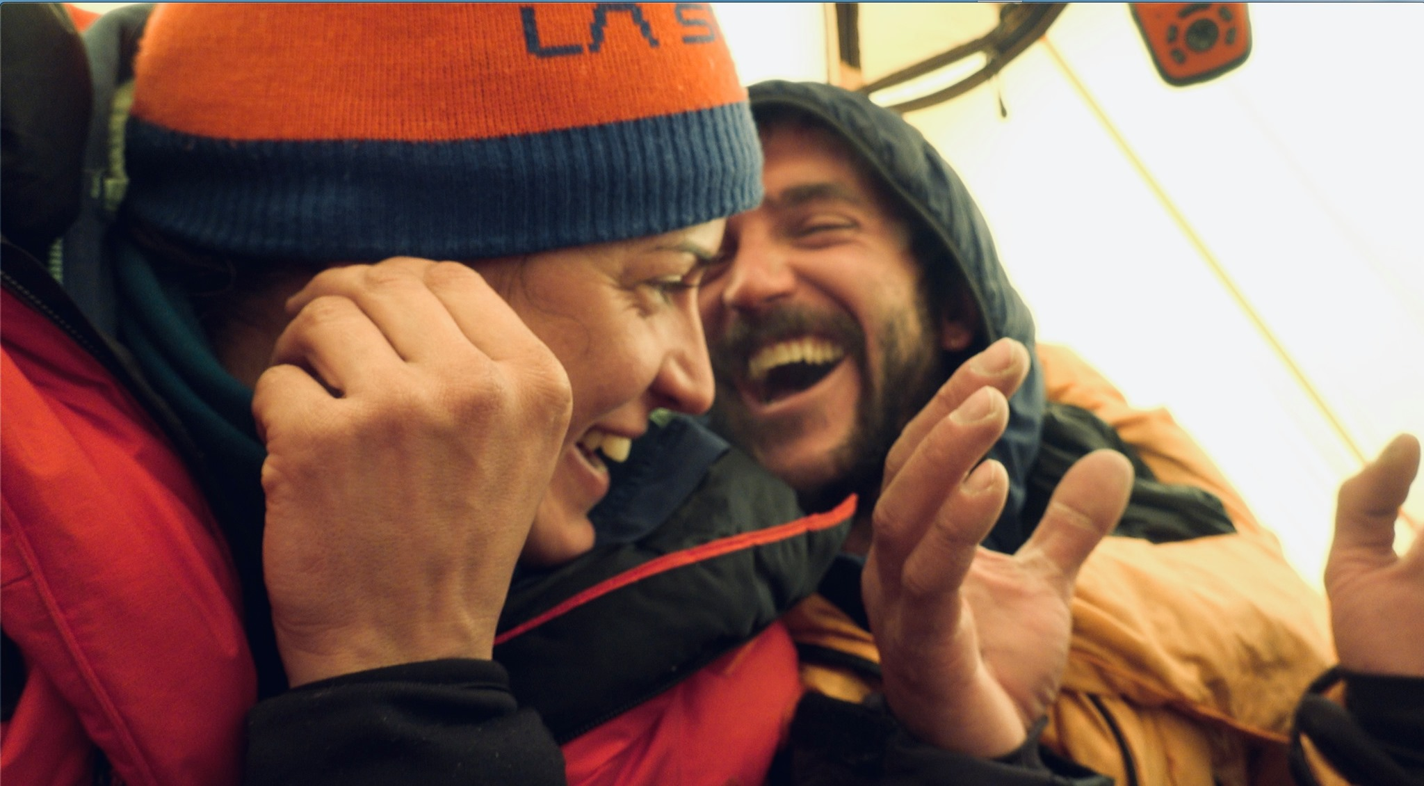 Tamara Lunger és Juan Pablo Mohr