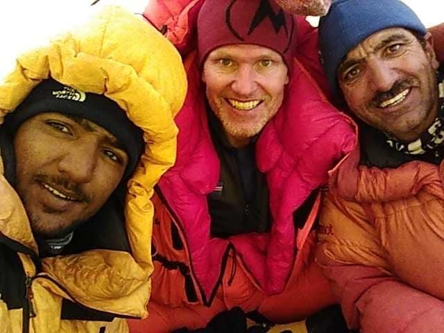 Sajid Sadpara, John Snorri és Muhammad Ali Sadpara