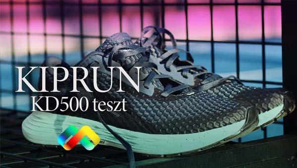 Kiprun KD500 utcai futócipő teszt