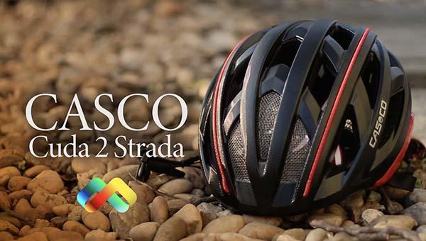 """Mit jelent egy bukónál a """"prémium"""" kategória? Casco Cuda 2 Strada kerékpáros fejvédő"""