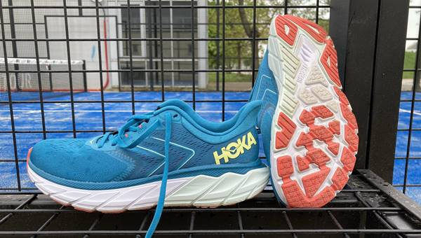 HOKA Arahi 5 futócipő teszt