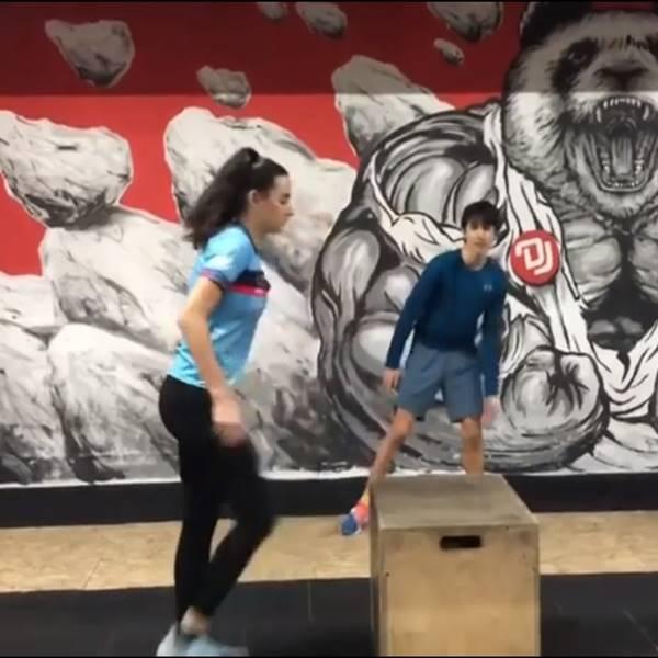 Box Jump - felugrás