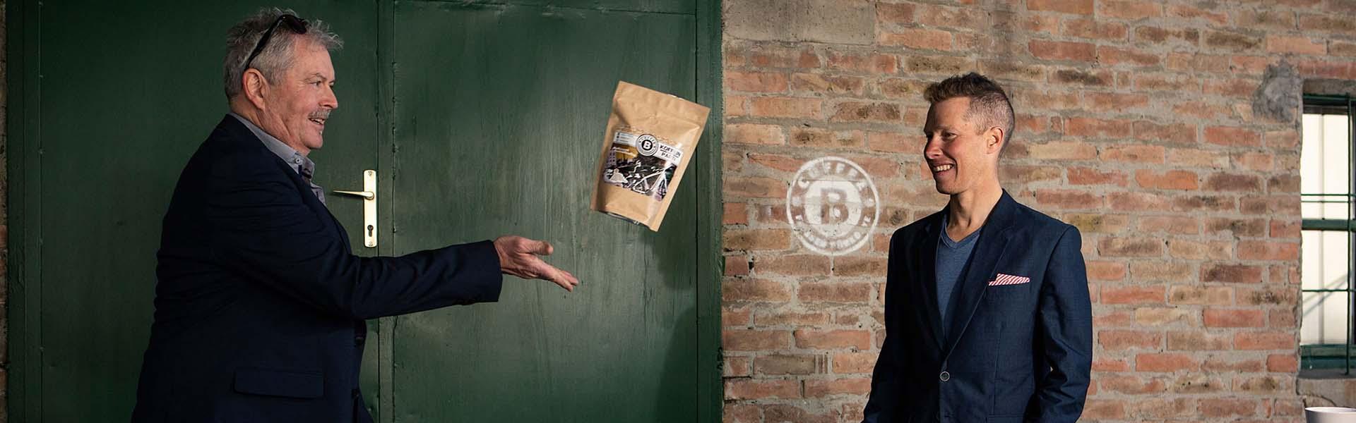 Parti András, hegyikerékpáros saját kávé márkával jelentkezik