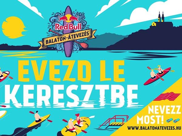 Red Bull Balaton-átevezés 2021