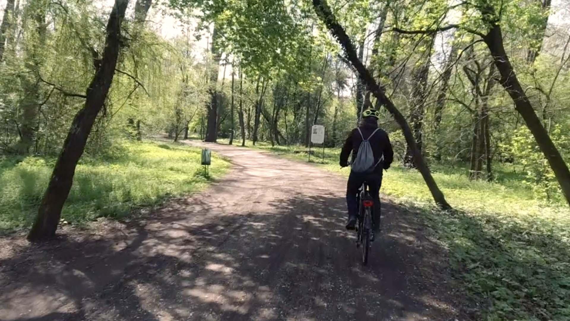 Tatai Öreg-tó körül kerékpárral-1