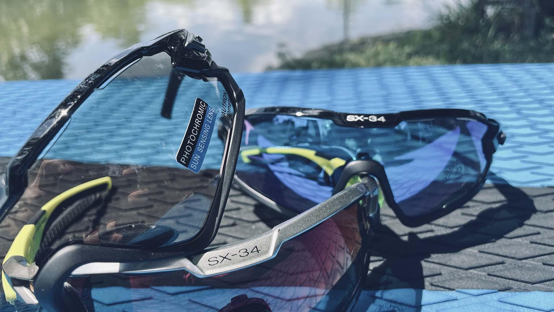 Funkcionális szemüveg sportoláshoz kifejlesztve: Casco SX-34 sportszemüveg-6