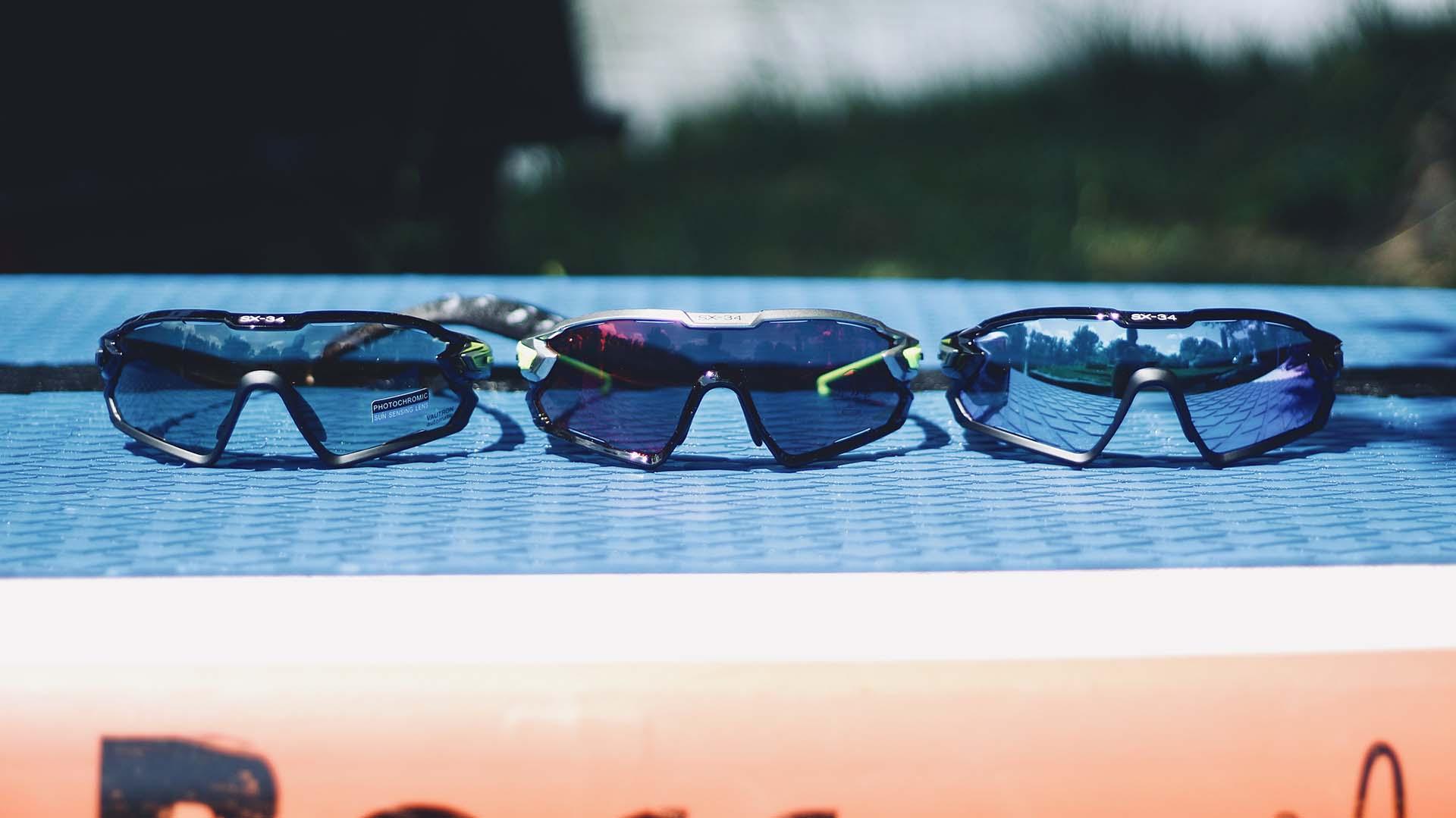 Funkcionális szemüveg sportoláshoz kifejlesztve: Casco SX-34 sportszemüveg-2