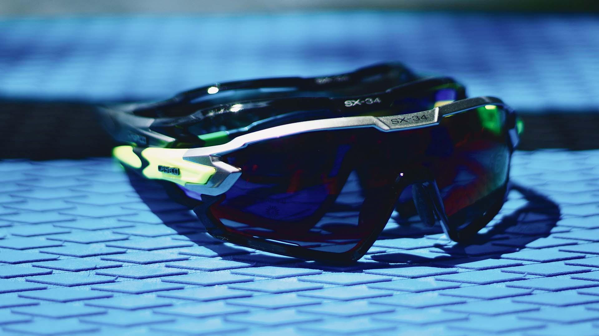 Funkcionális szemüveg sportoláshoz kifejlesztve: Casco SX-34 sportszemüveg-4