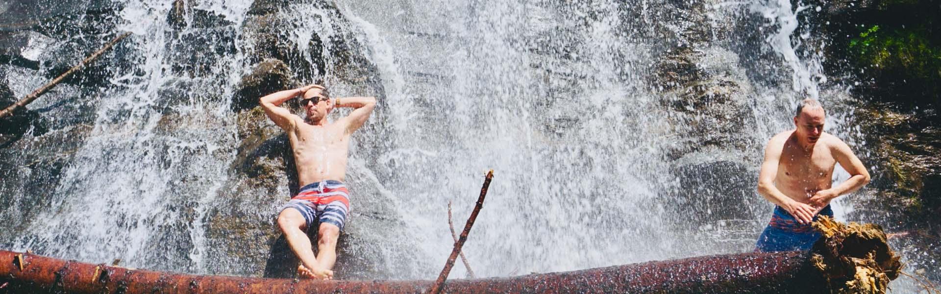 Fürödtél már vízesésben?