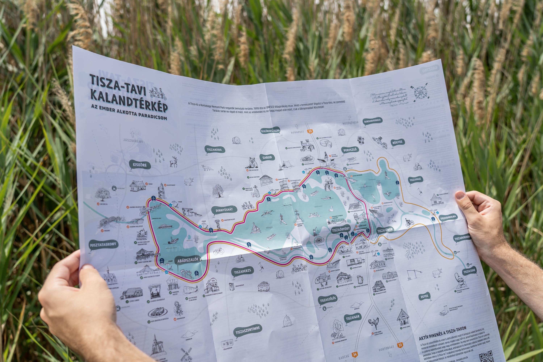 Kalandtérképpel fedezhetjük fel a Tisza-tavat-1