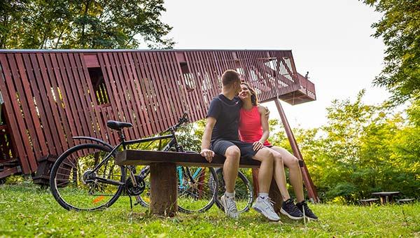 VELOREGIO: családi túrák Szombathely környékén, hegyi kerékpározás a határon túl