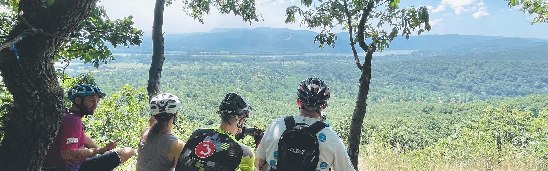 Kerékpárral a Börzsönyben