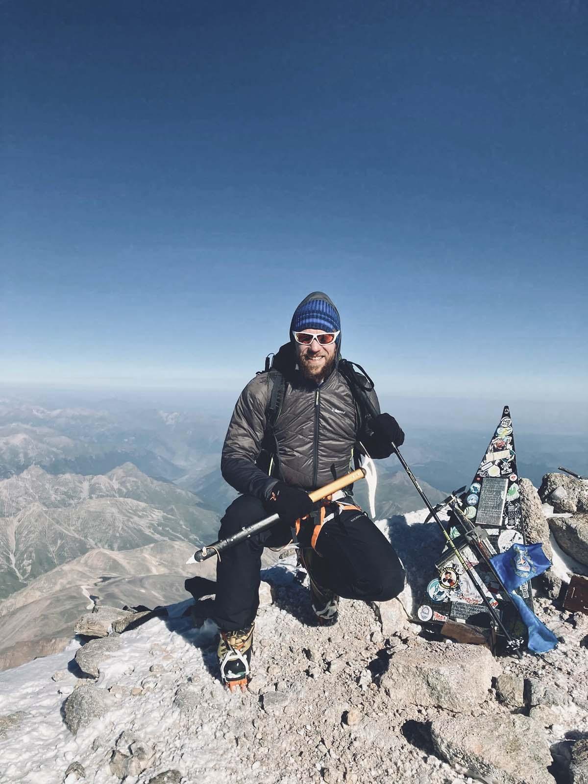 Európa tetején: Elbrusz csúcstámadás-2