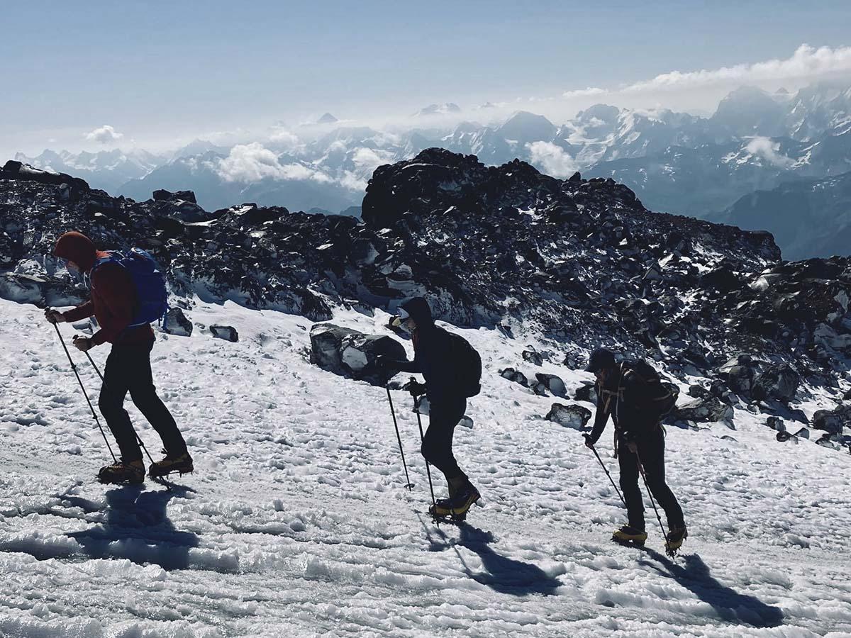 Európa tetején: Elbrusz csúcstámadás-6