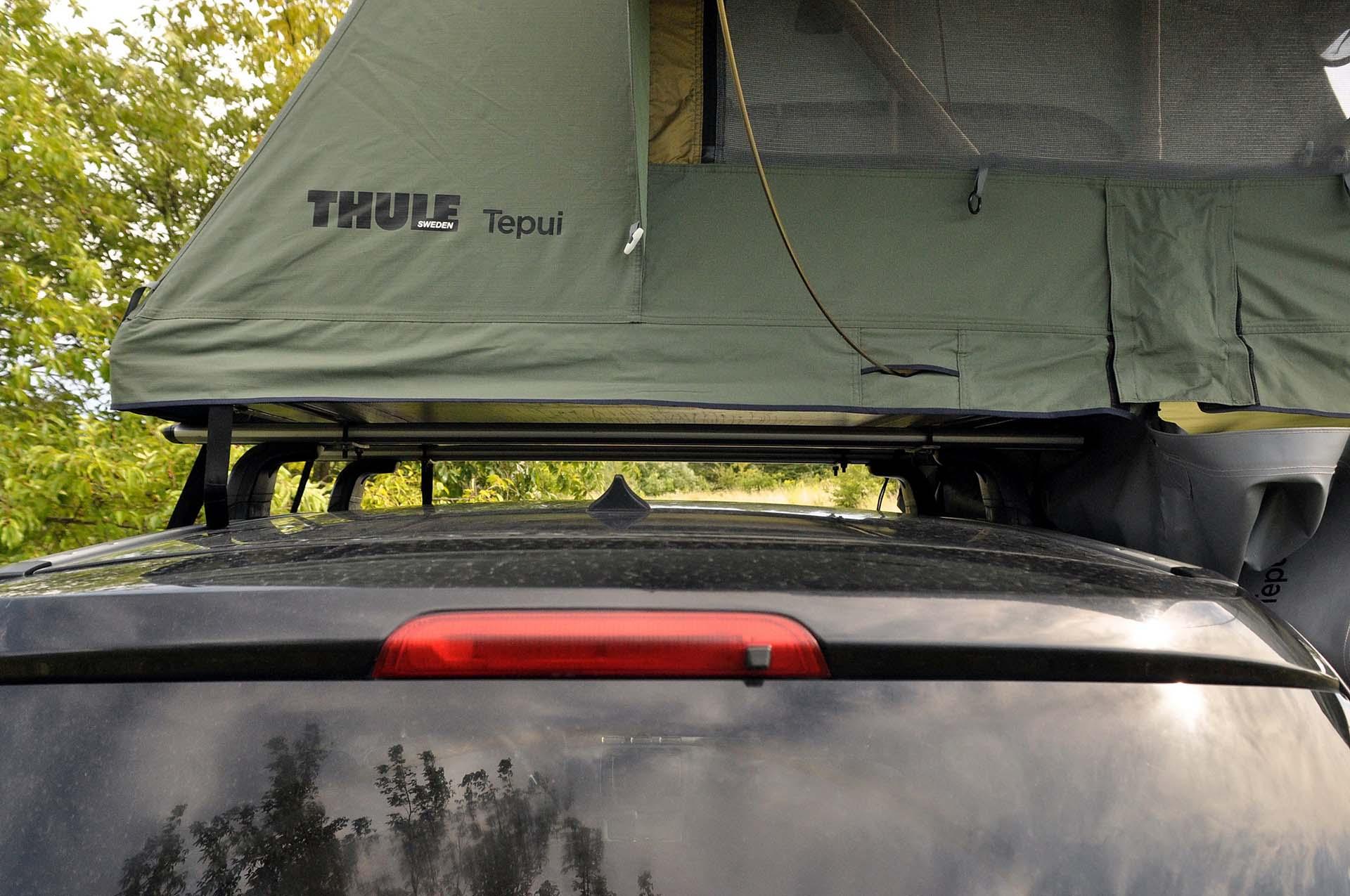 Hátamon a házam - Thule Tepui Kukeman 3 autós tetősátorteszt-18