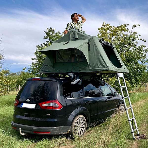 Hátamon a házam - Thule Tepui Kukeman 3 autós tetősátorteszt