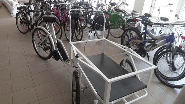 Elektromos teherhordó kerékpárok a Neuzertől